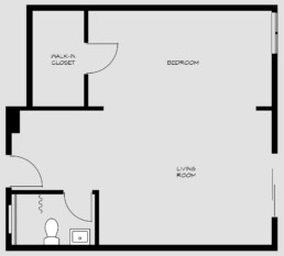 floorpan for bedroom 3