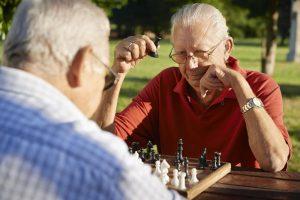 seniors playing